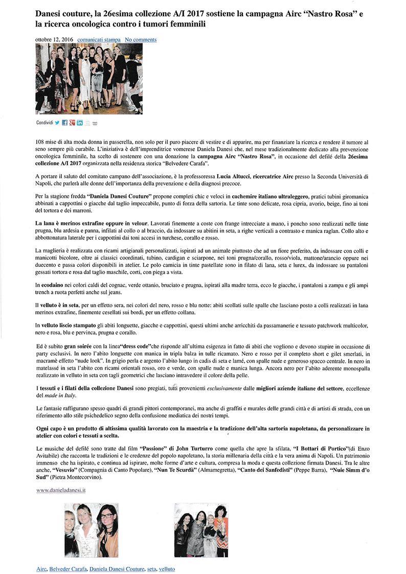 20161027 today news press danesi airc