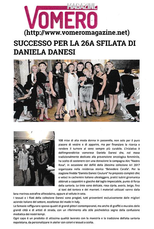 20161027 vomero magazine 26a sfilata danesi