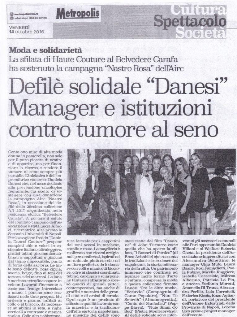 Defile Daniela Danesi