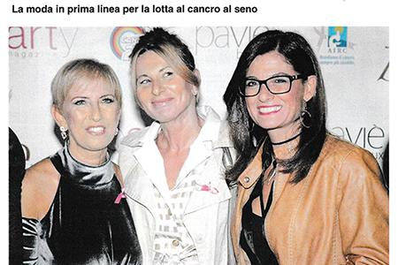 Repubblica: La moda in prima linea per la lotta al cancro al seno