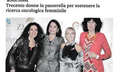 Scrivonapoli: Trecento Donne in Passarella per Sostenere la Ricerca contro il Cancro